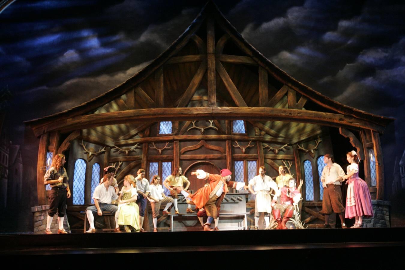 Fotos del musical 'La Bella y la Bestia'