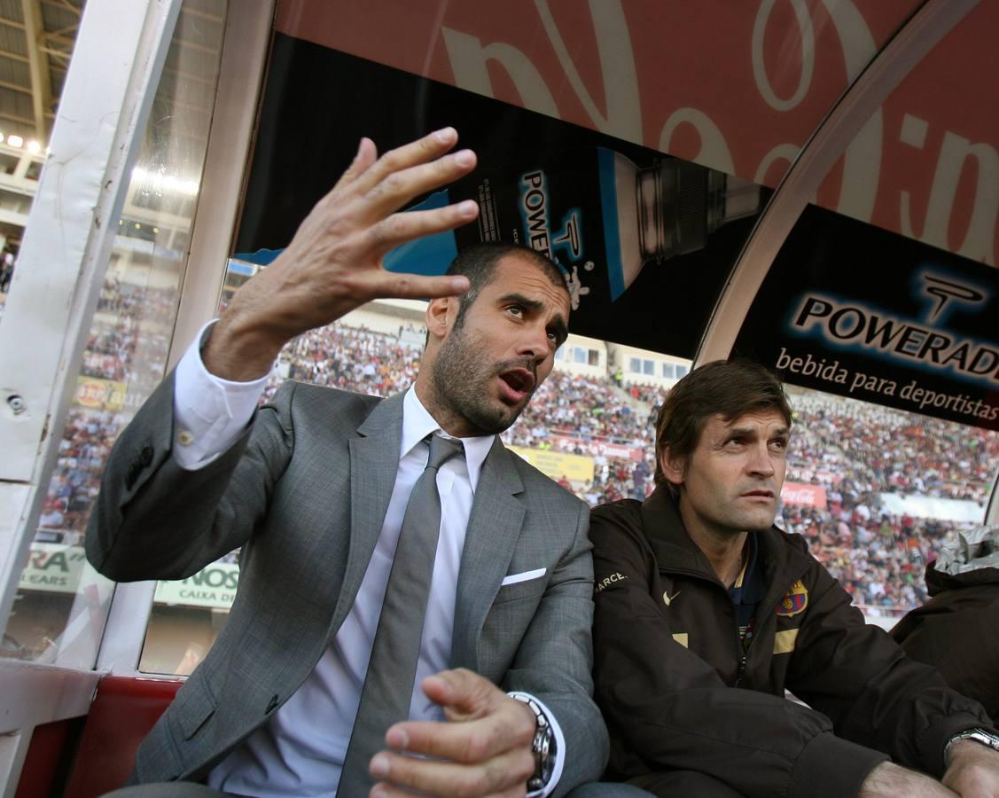 Tito abandona el Barcelona