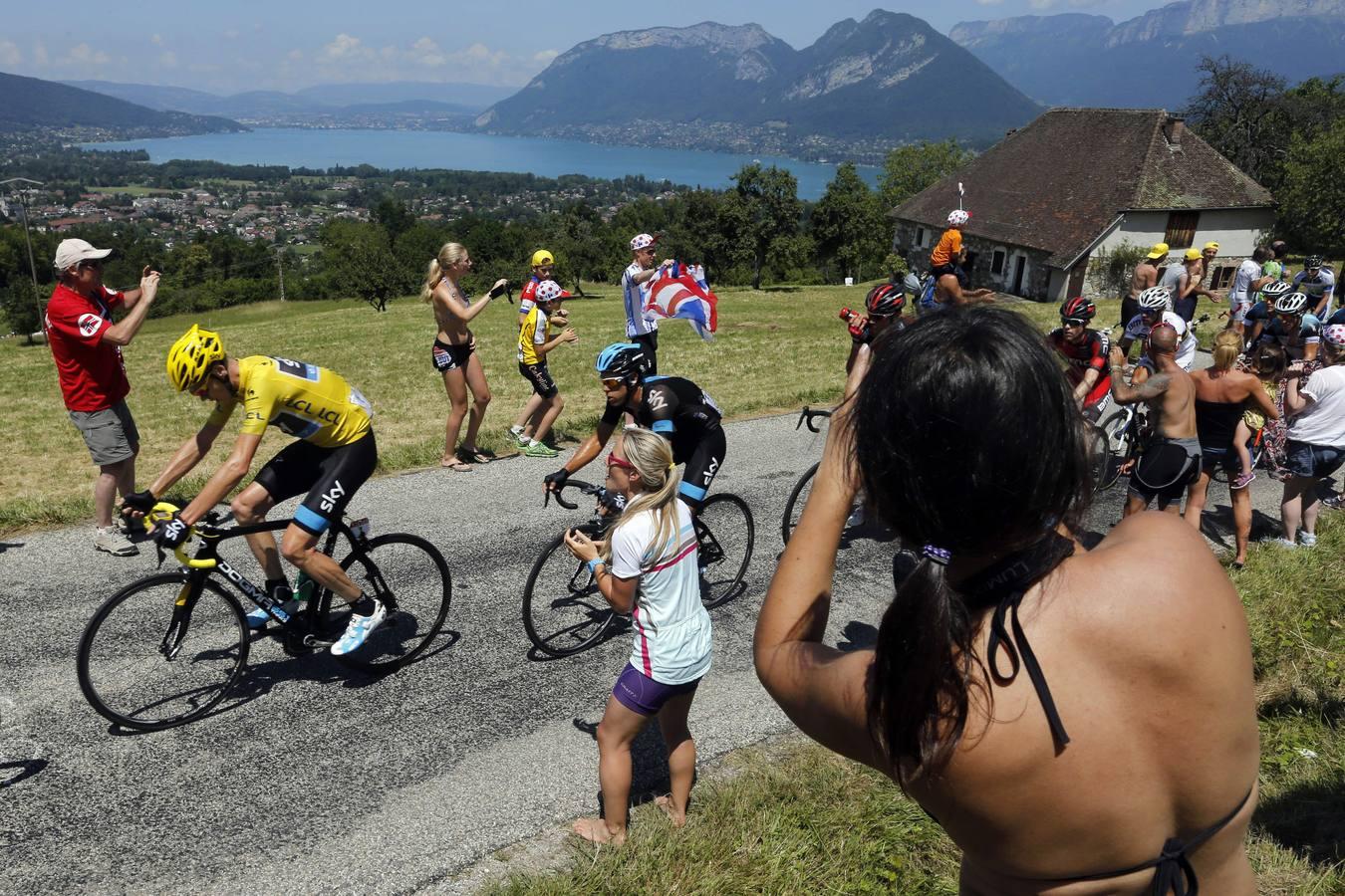 Penúltima etapa del Tour de Francia 2013