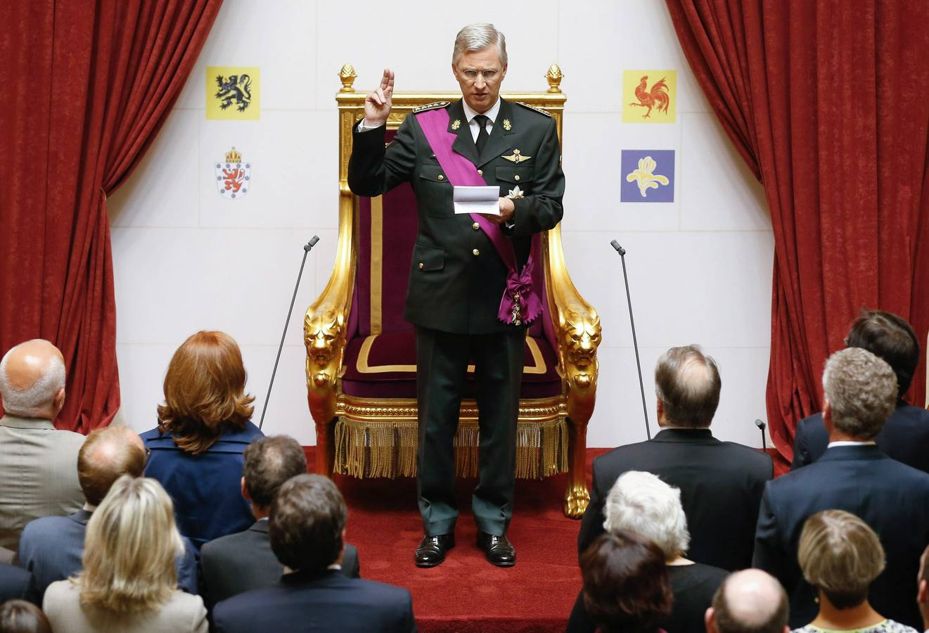 Relevo en la monarquía de Bélgica