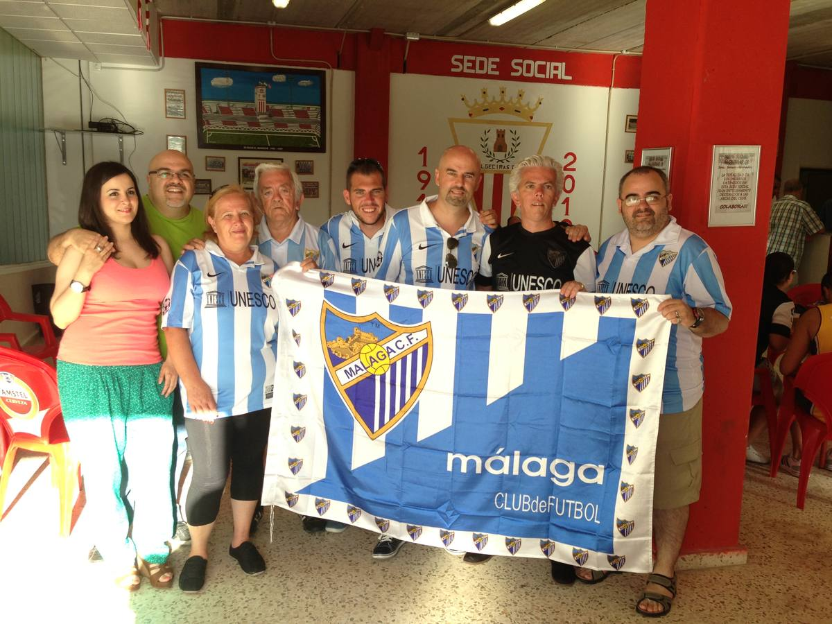 Fotos del amistoso Algeciras-Málaga (0-4)