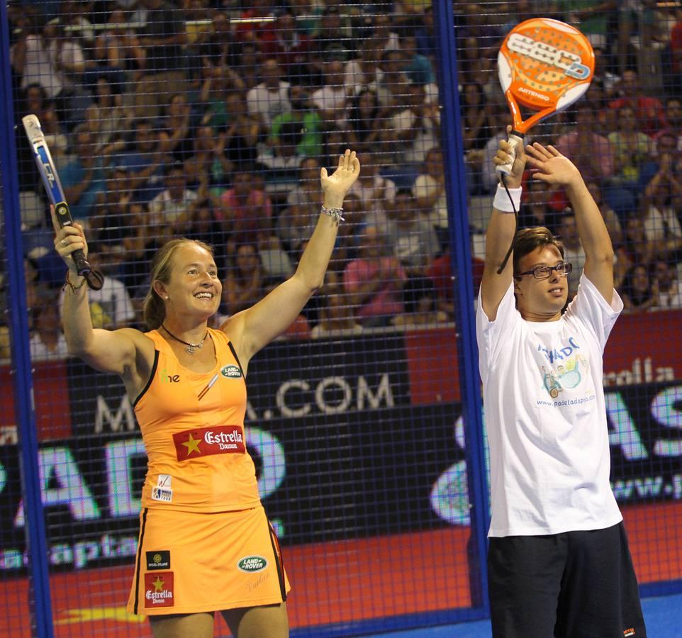 Carolina Navarro gana y pasa a la final del 'Costa del Sol International Open'