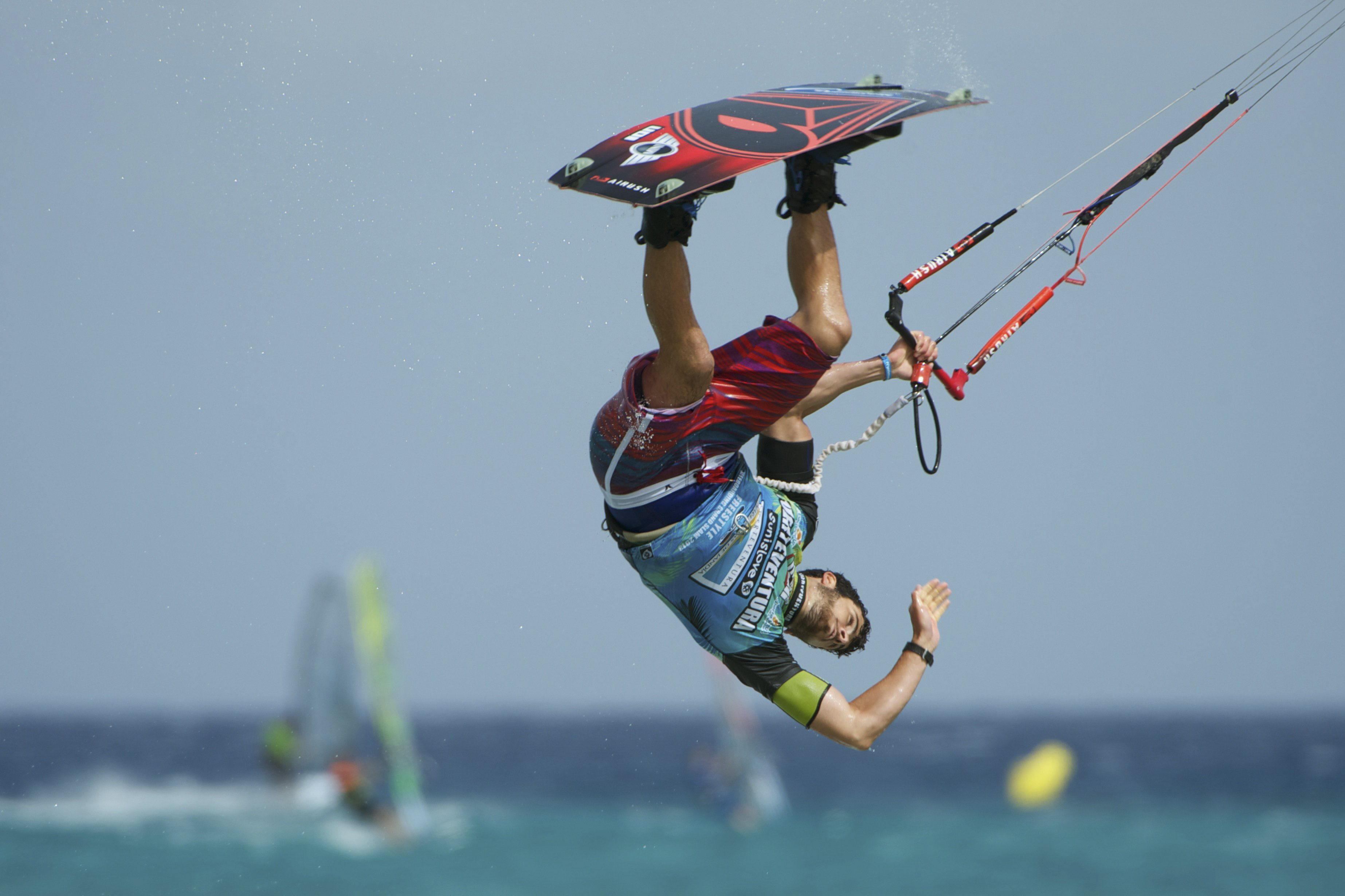 Fotos del Campeonato Mundial de Windsurfing y Kiteboarding en Fuerteventura