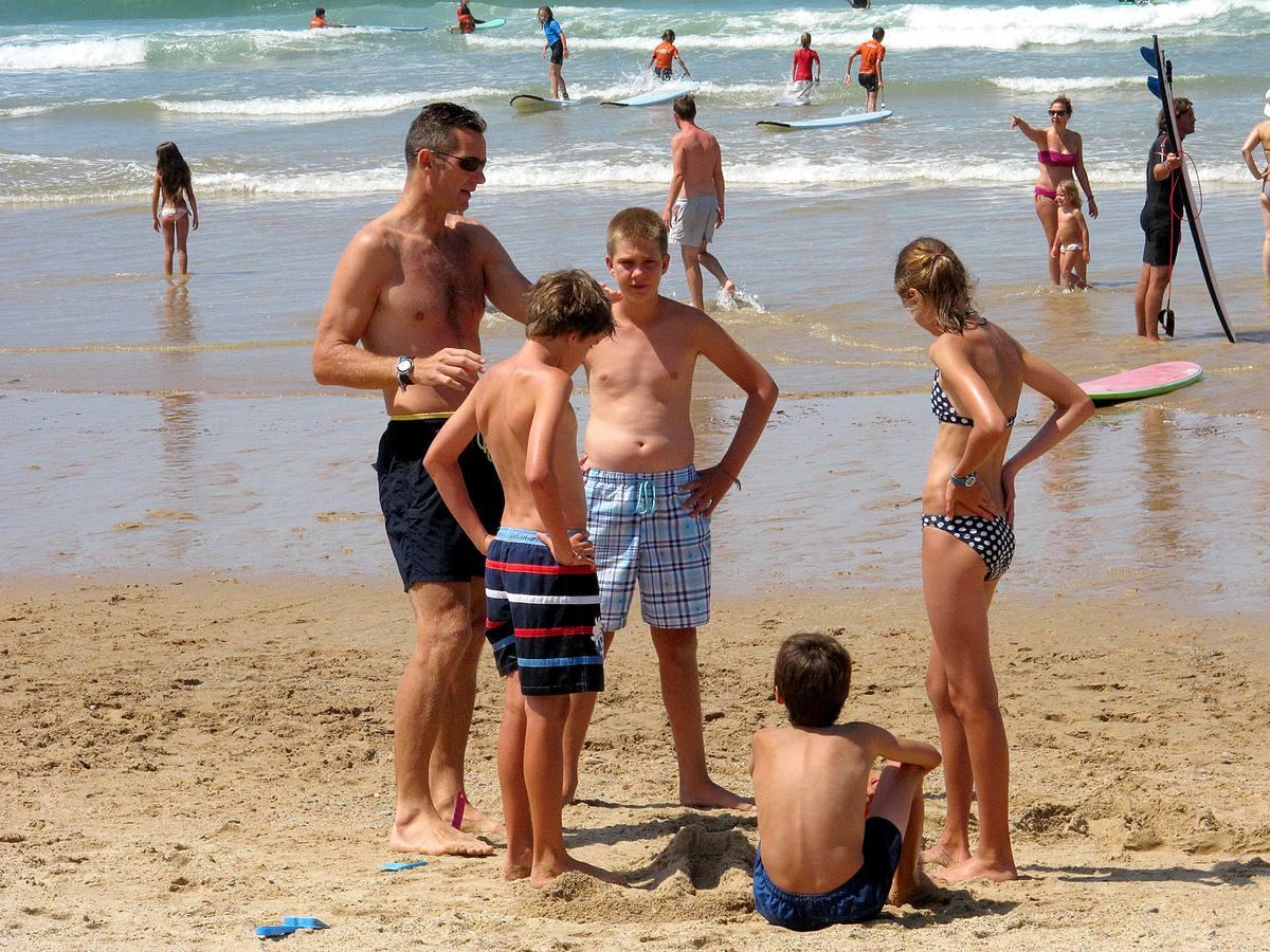 Vacaciones en familia de los duques de Palma