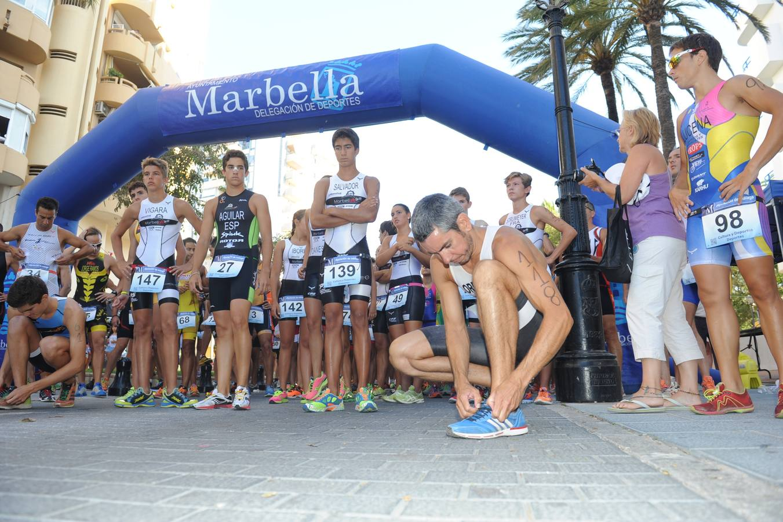 El Acuatlón 'Ciudad de Marbella', en imágenes