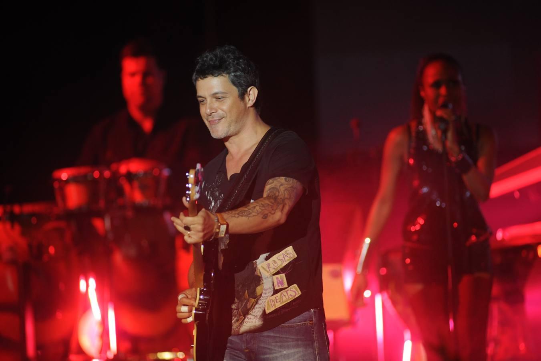 Alejandro Sanz se deja el alma en el Starlite de Marbella