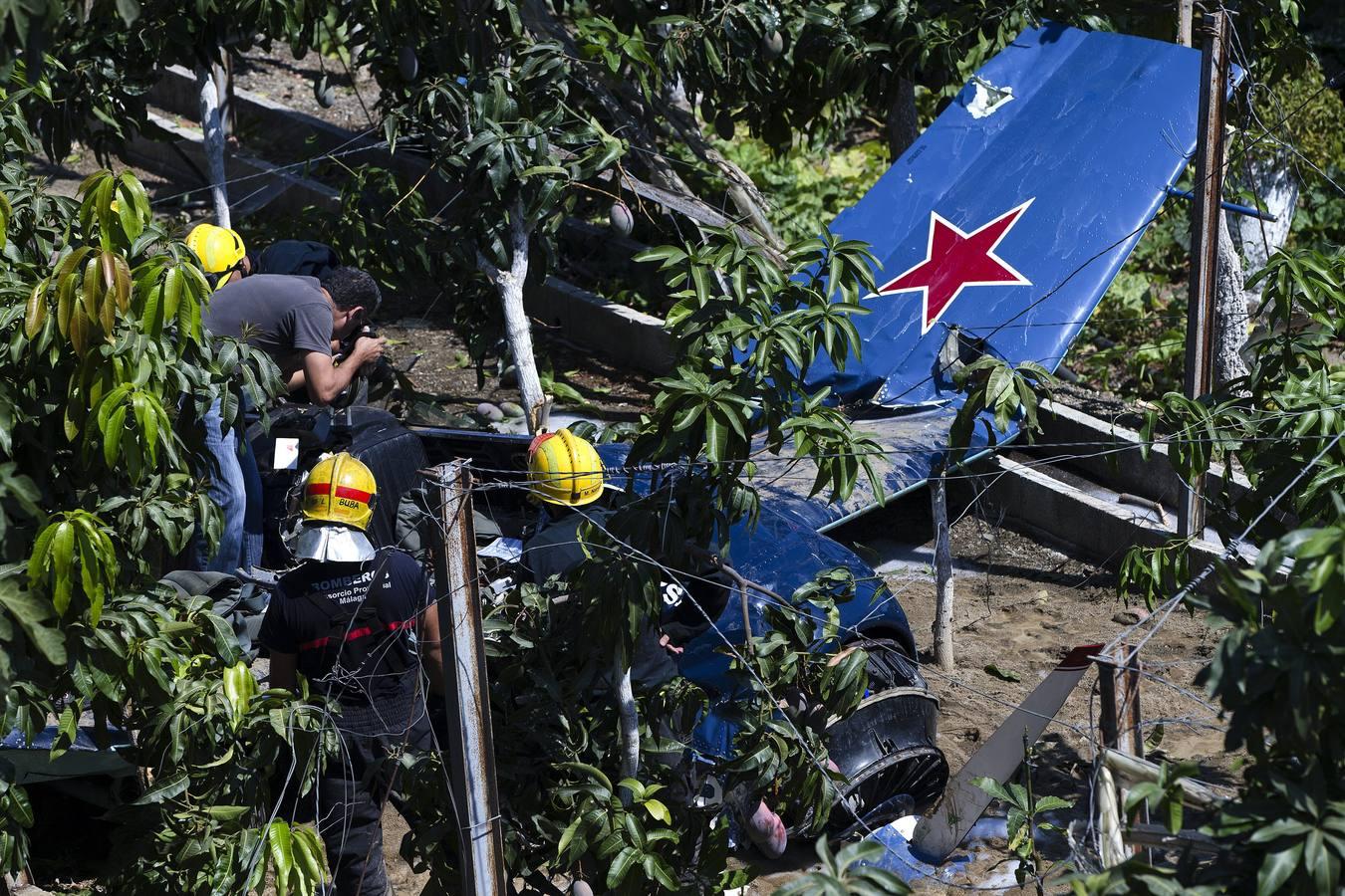 Un campeón de España de vuelo acrobático muere en un accidente de avión en Vélez