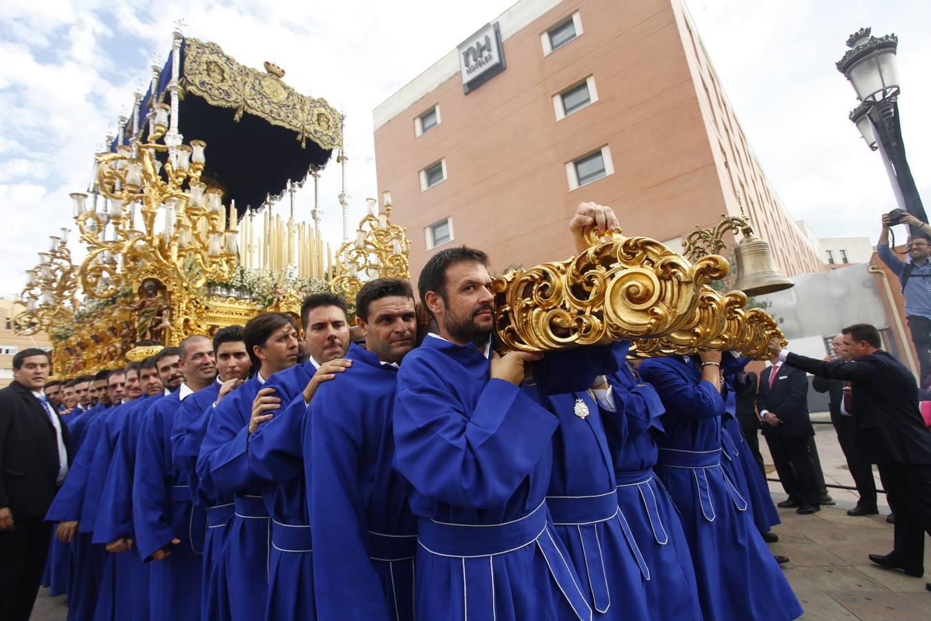 La Virgen de la Concepción procesionó en el Mater Dei