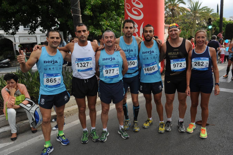 Las mejores imágenes de la Media Maratón de Marbella