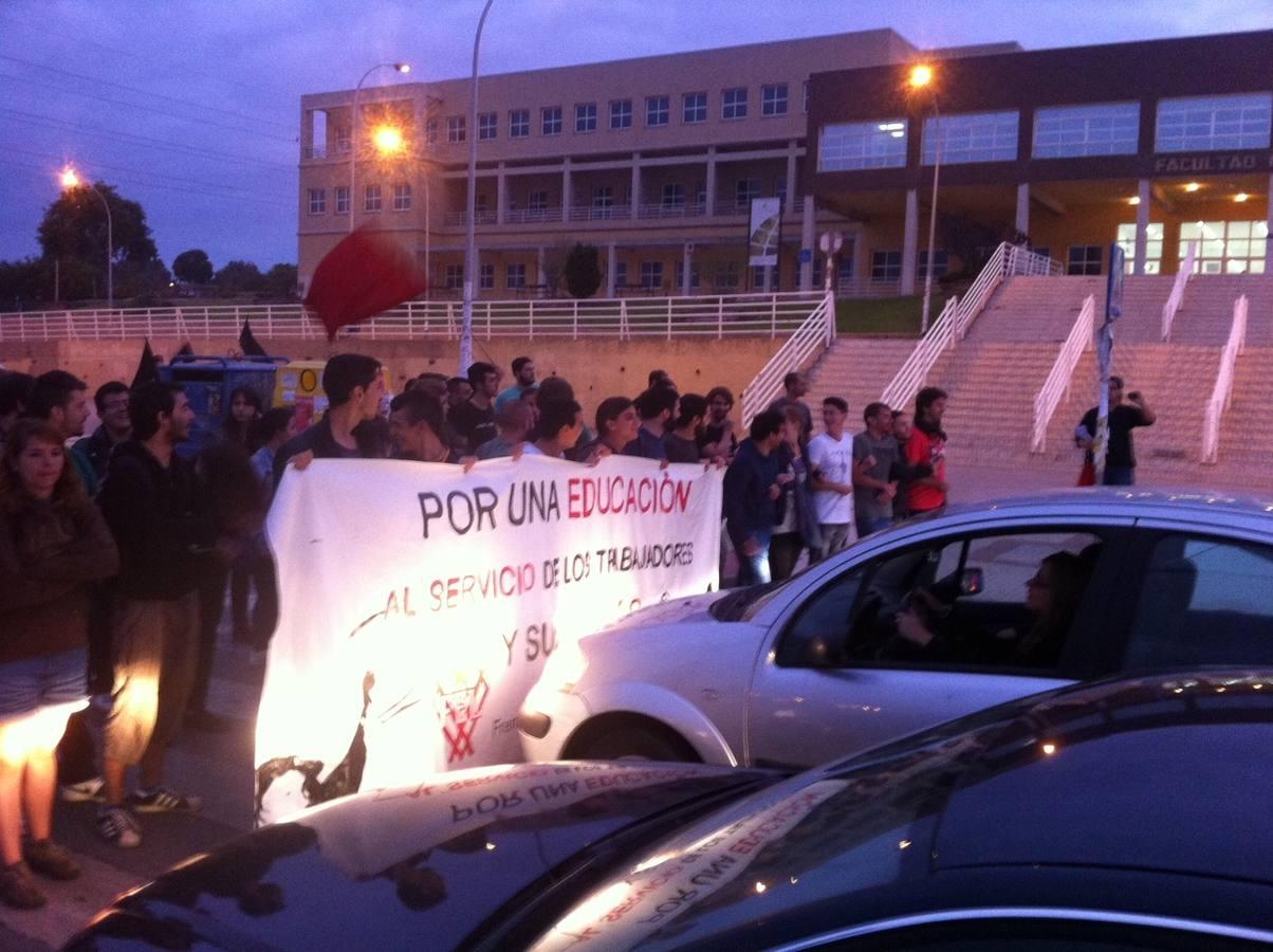 La huelga de Educación, en fotos
