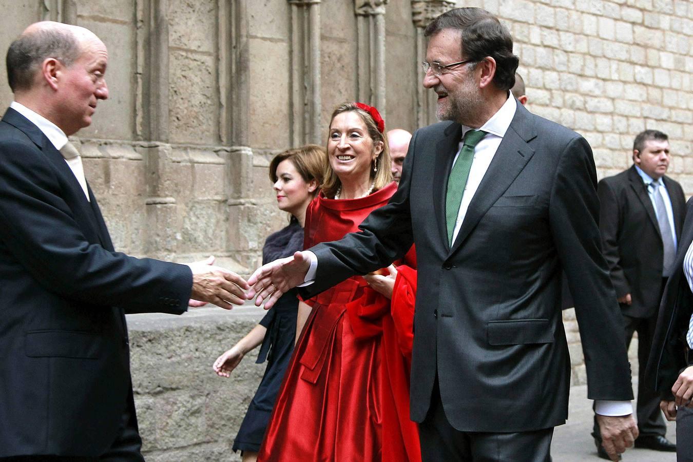 Una boda de alto nivel