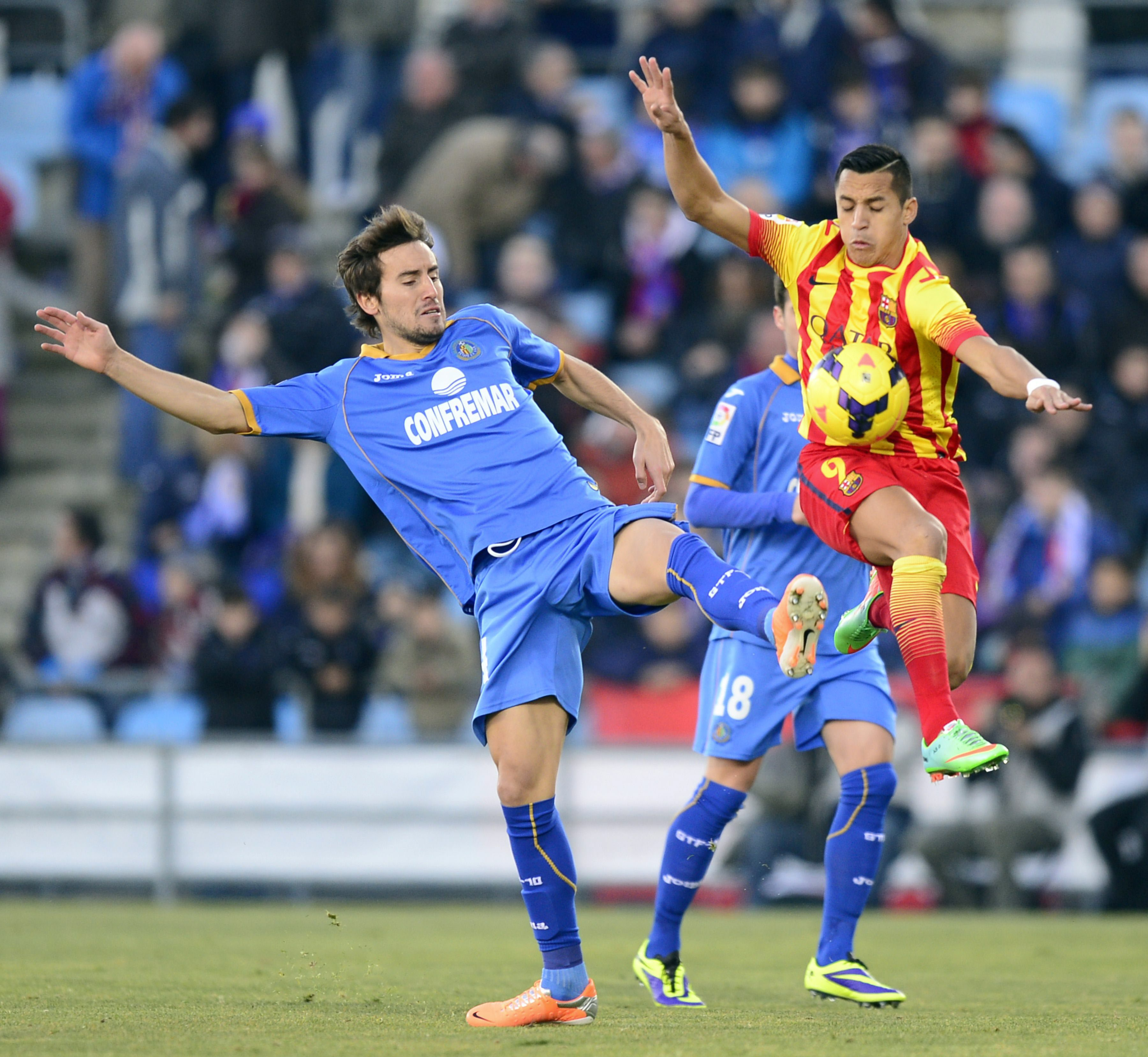 Getafe-Barcelona (Primera División)