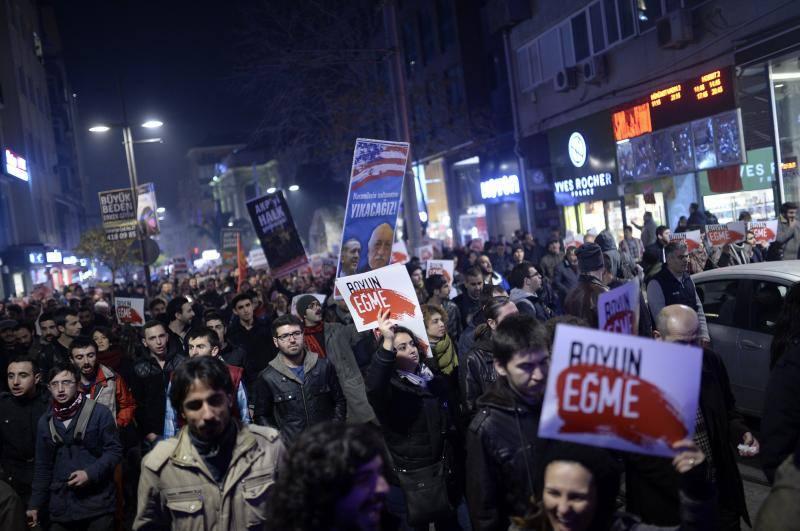 La corrupción enciende el polvorín turco