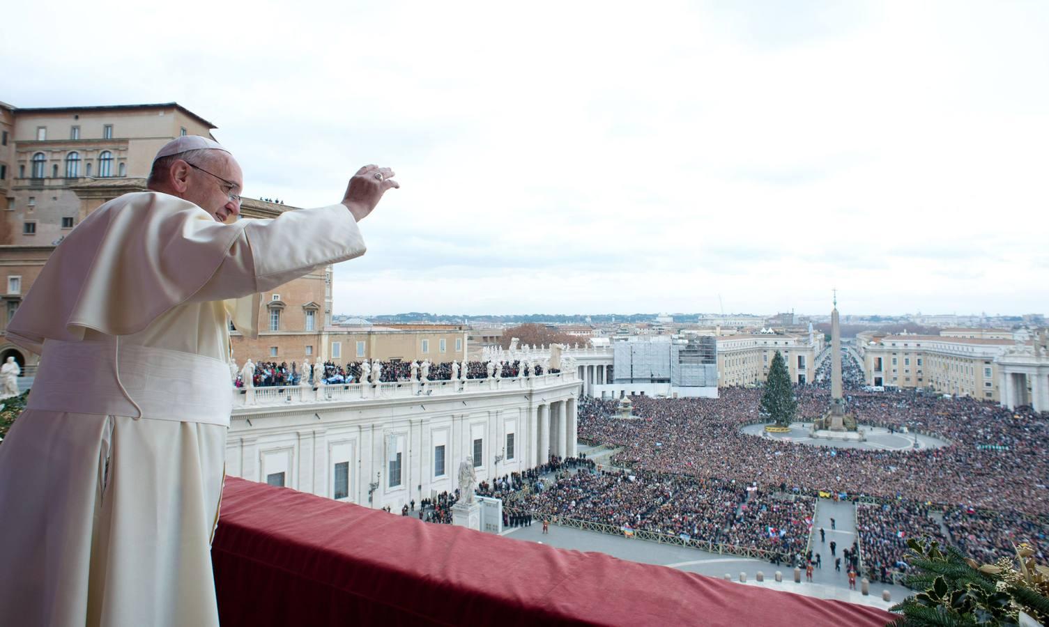 La primera Navidad del Papa Francisco en el Vaticano